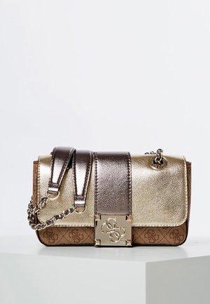Across body bag - golden