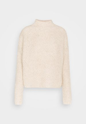 SAFINEY - Strickpullover - natural