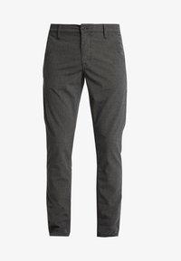 SLHSLIM STORM FLEX SMART PANTS - Trousers - grey melange
