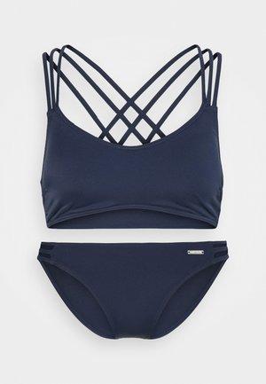 ALEXA BUSTIER SET - Bikini - navy