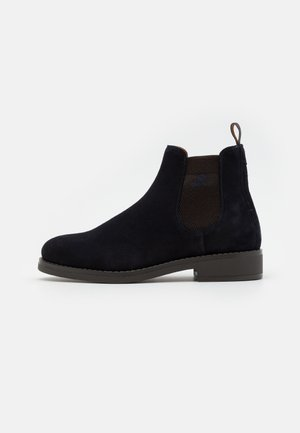 BROOKLY - Classic ankle boots - marine/dark brown
