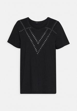 MELLA - T-shirt z nadrukiem - black