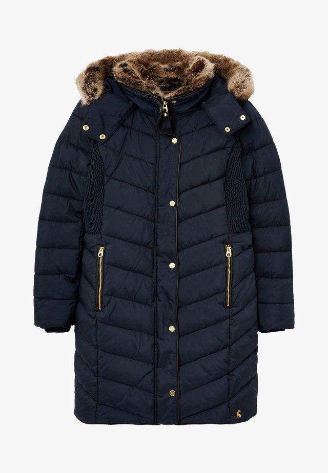 Abrigo de invierno - marineblau
