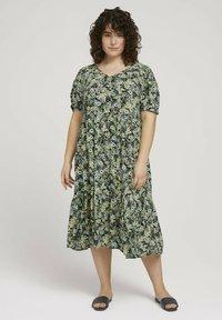MY TRUE ME TOM TAILOR - Maxi dress - multicolor - 0