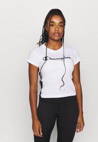 Champion - CREWNECK LEGACY - T-Shirt print - white - 0