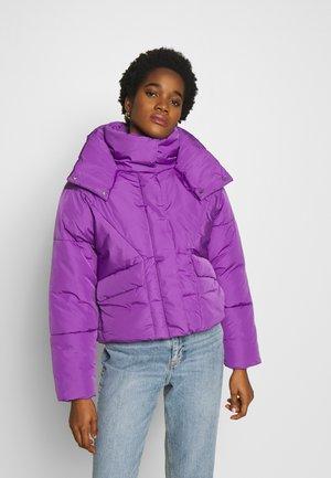 80S PUFFER - Winter jacket - purple
