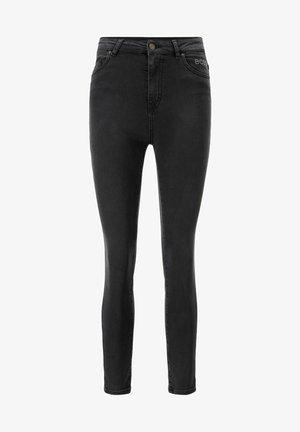 SKINNY CROP - Jeans Skinny Fit - dark grey