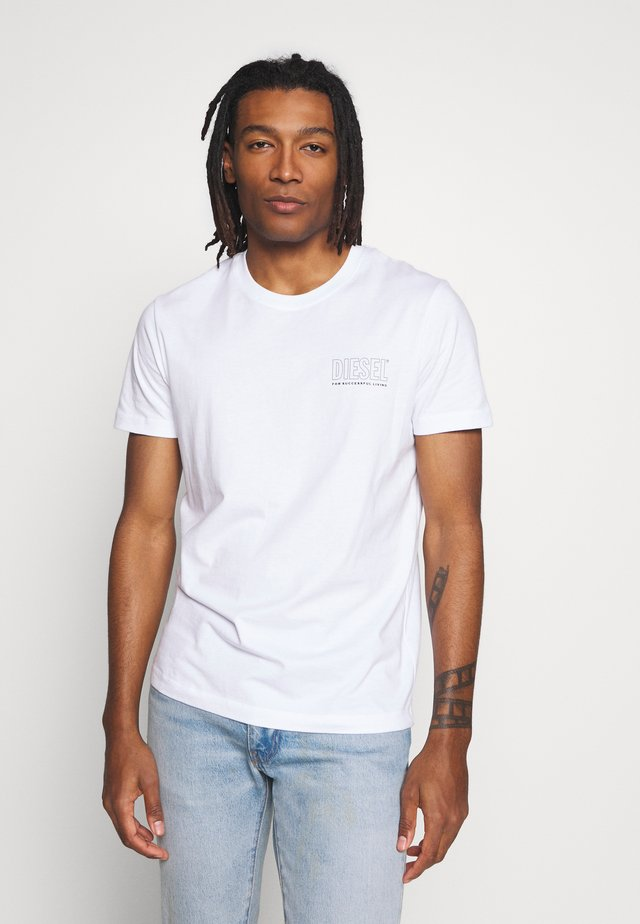 JAKE - T-shirt imprimé - white