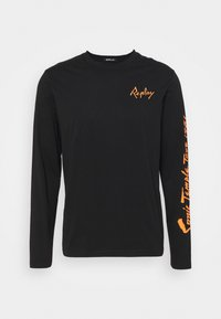 Replay - LONG SLEEVE LIKE STYLE - Long sleeved top - black - 0