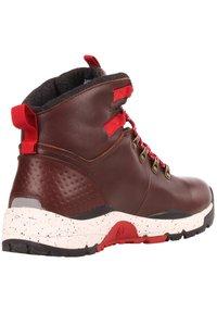 Element - MONDE - Lace-up ankle boots - walnut - 3