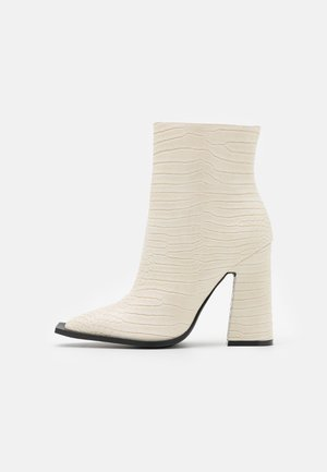 DELPHI - Classic ankle boots - offwhite
