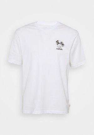 TEE UNISEX - T-shirt print - white