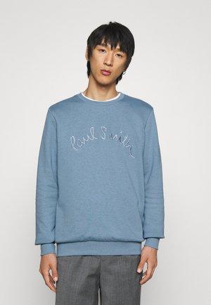 ROPE LOGO EMBROIDERY - Sweatshirt - light blue