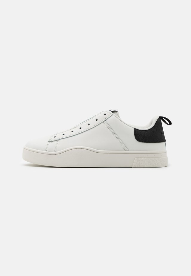 CLEVER S-CLEVER SOSNEAKERS - Mocassins - white/black