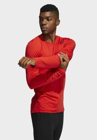adidas Performance - TECHFIT COMPRESSION LONG-SLEEVE TOP - T-shirt à manches longues - red - 3