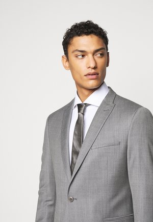 TIE SLIM - Cravate - braun