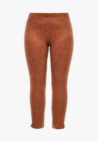 Triangle - Leggings - Trousers - cognac - 6