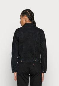 Levi's® - ORIGINAL TRUCKER - Giacca di jeans - black - 2