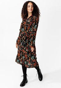 Indiska - Shirt dress - black - 1