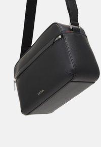Paul Smith - CAMERA BAG EMBOSS UNISEX - Across body bag - black - 4