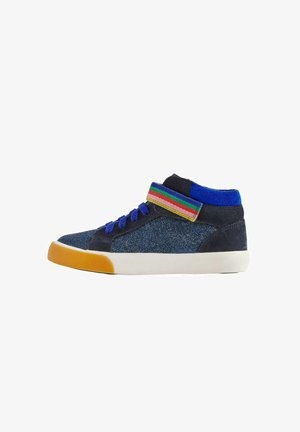 High-top trainers - blitzblau glitzer
