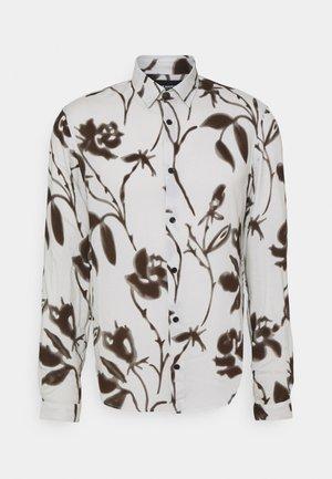 Shirt - off white/black