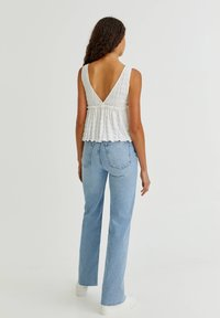 PULL&BEAR - Top - off white - 2