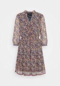 Vero Moda - VMBELLA DRESS - Denní šaty - ombre blue/bella - 4