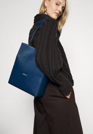 BUCKET - Handbag - dark blue