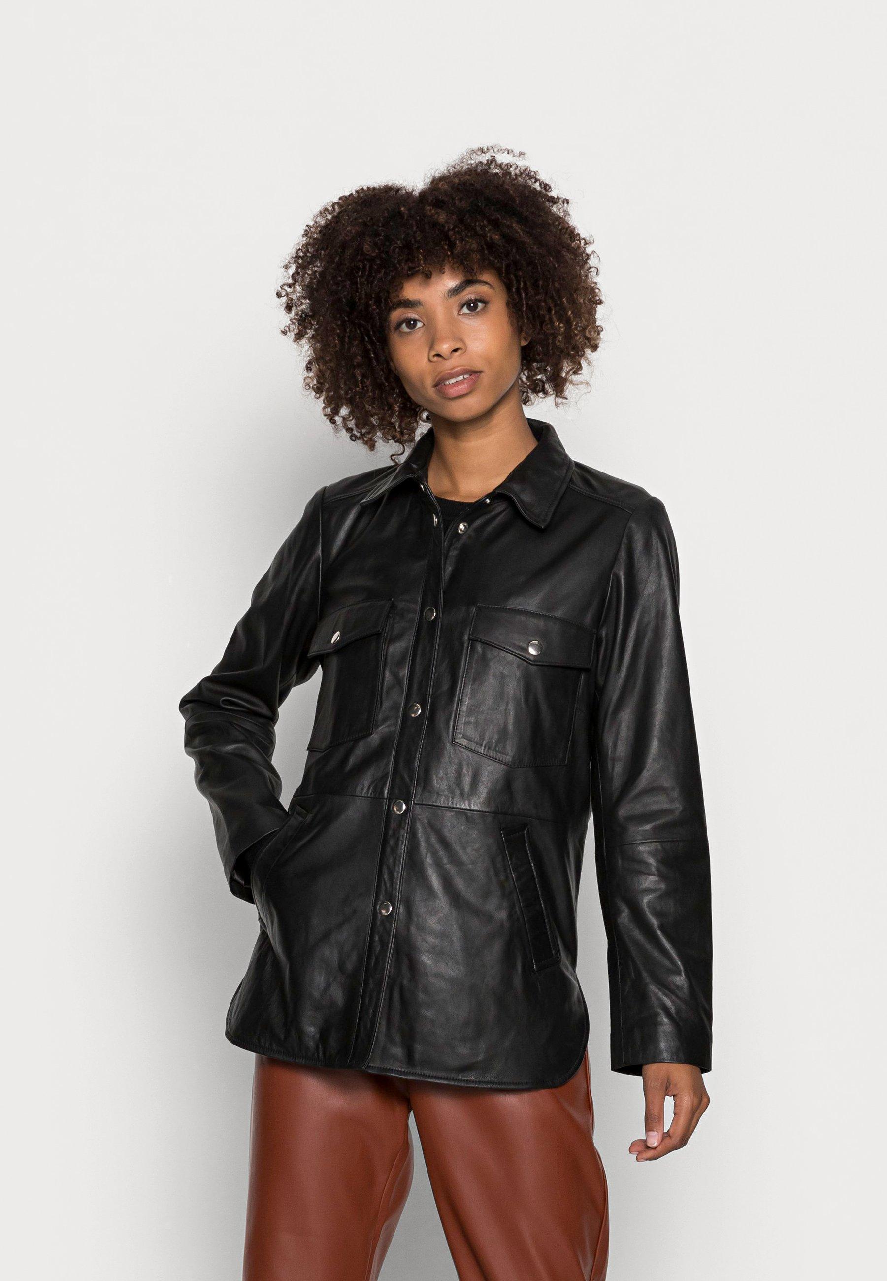 Women ELFAS - Leather jacket