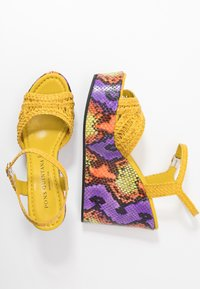 Pons Quintana - High heeled sandals - yellow - 3