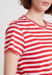 Samsøe Samsøe - SOLLY TEE - Print T-shirt - red - 4