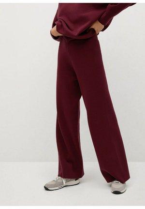 LORCA - Pantalon classique - granatrot