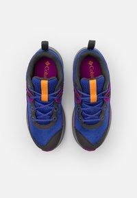 Columbia - YOUTH TRAILSTORM UNISEX - Hiking shoes - light grape/bright plum - 3