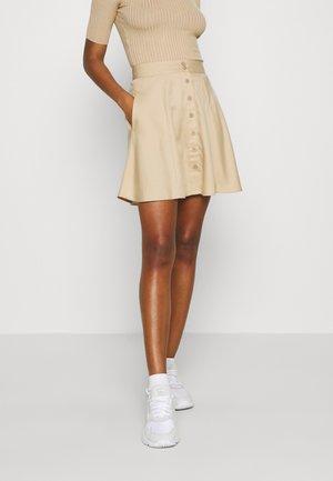 PCMARYLEE SKIRT - A-line skirt - warm sand