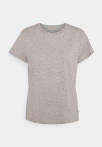 Lee - SLIM FIT TEE - Basic T-shirt - grey mele - 4