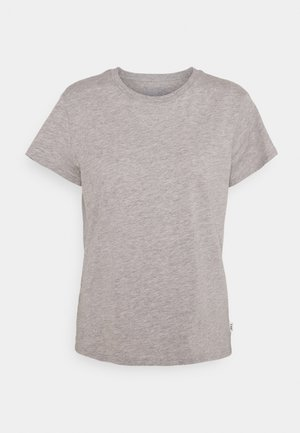 SLIM FIT TEE - T-shirt basic - grey mele