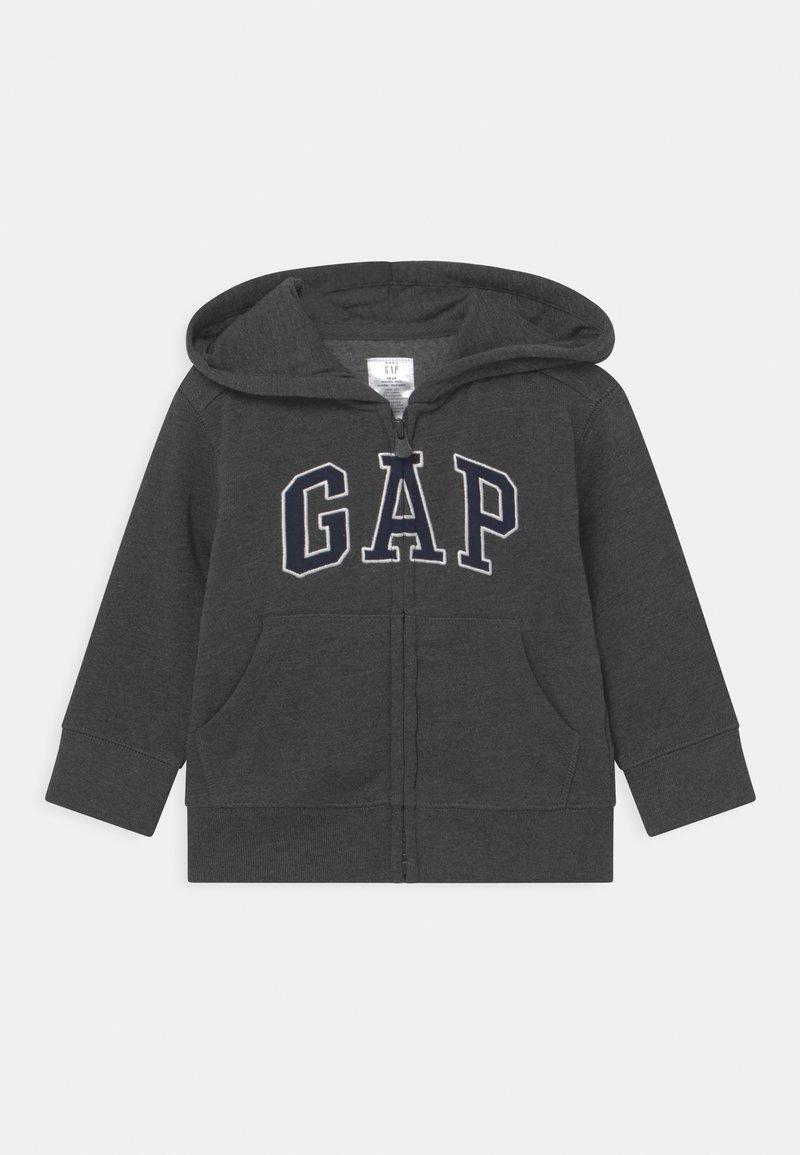 GAP - TODDLER BOY LOGO - Zip-up hoodie - charcoal grey