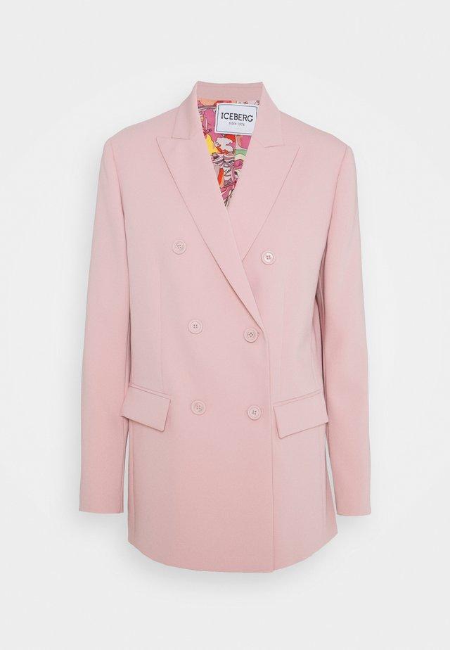 GIACCA - Blazer - rosa antico