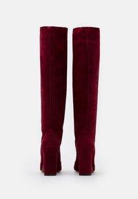 L'Autre Chose - BOOT - Stivali con i tacchi - burgundy - 3