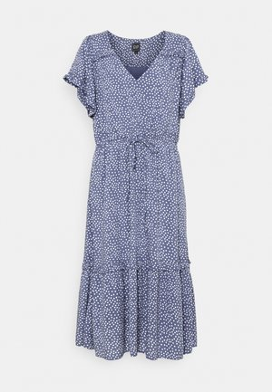 MIDI - Day dress - blue
