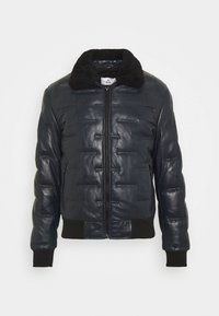Serge Pariente - TAYLOR - Leather jacket - navy - 5