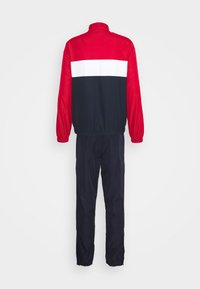 Lacoste Sport - TRACKSUIT - Tracksuit - ruby/navy blue/white - 11