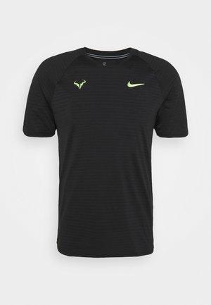 RAFAEL NADALEL NADAL - T-shirts med print - black/volt