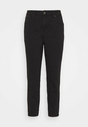 HIGH WAIST MOM - Jeans Skinny Fit - black