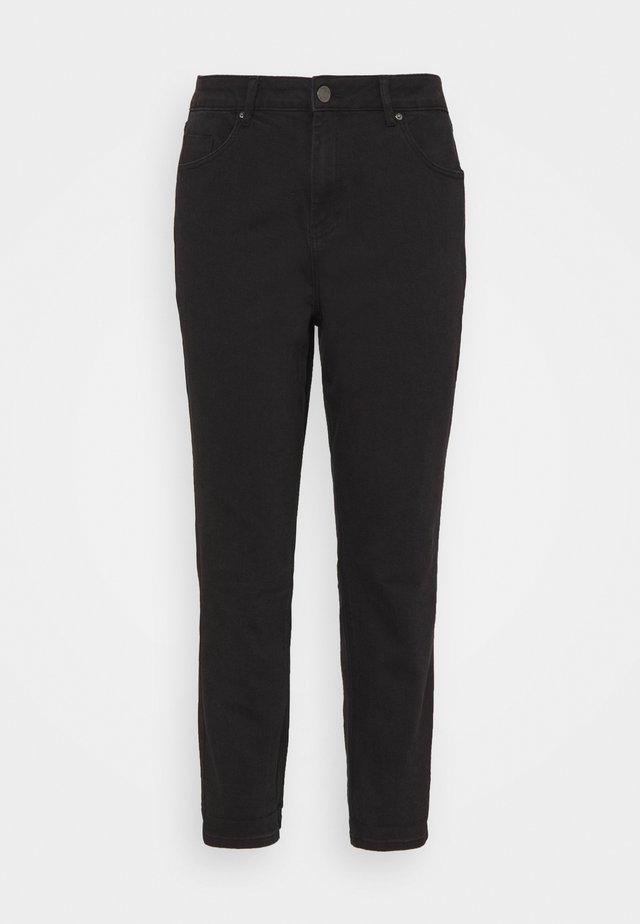HIGH WAIST MOM - Jeans Skinny Fit - black