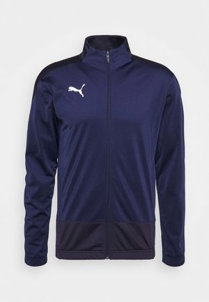 TEAMGOAL TRAINING JACKET - Sportovní bunda - peacoat/new navy