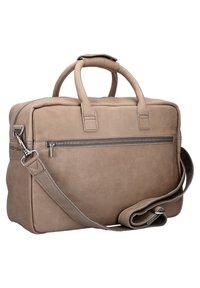 Cowboysbag - THE COLLEGE - Briefcase - elephant grey - 1