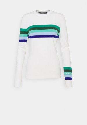 LOGO - Pullover - white