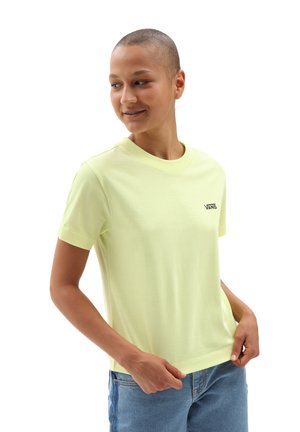 WM JUNIOR V BOXY - T-shirt - bas - sunny lime